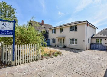 Thumbnail 4 bed detached house for sale in Rectory Road, Copford, Colchester, Essex