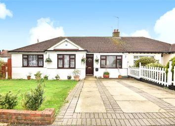 Thumbnail 3 bed semi-detached bungalow for sale in Lyndhurst Gardens, Pinner