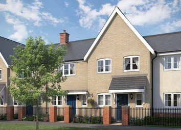 Thumbnail 2 bed terraced house for sale in The Stonechat At Chesterwell, Nayland Road, Mile End, Colchester, Essex