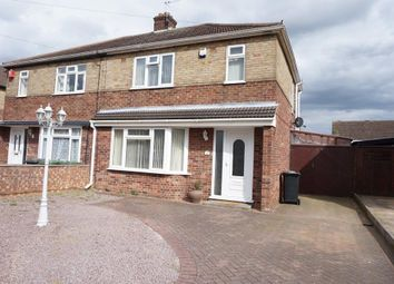 Thumbnail 3 bed semi-detached house for sale in Oakdale Avenue, Stanground, Peterborough