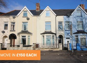 Thumbnail 1 bed terraced house to rent in Ferry Road, Grangetown, Cardiff