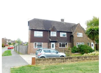 Thumbnail 5 bed semi-detached house for sale in Harebeating Drive, Hailsham