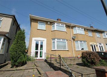 Thumbnail 3 bed end terrace house for sale in Hillside Avenue, Kingswood, Bristol