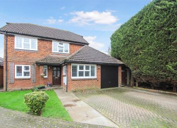 Thumbnail 4 bed detached house for sale in Wexfenne Gardens, Pyrford, Woking