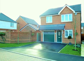 Thumbnail 3 bed detached house for sale in Garrison Close, Saighton, Chester