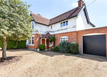 Thumbnail 4 bedroom detached house for sale in Halliford Road, Sunbury-On-Thames, Surrey