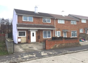 Thumbnail 3 bed end terrace house to rent in Penhill, Swindon