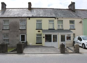 Thumbnail 3 bed terraced house for sale in Central Treviscoe, St. Austell