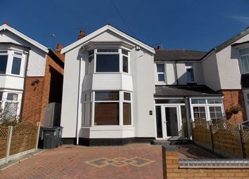 Thumbnail 4 bed semi-detached house for sale in Lyttelton Road, Stechford, Birmingham