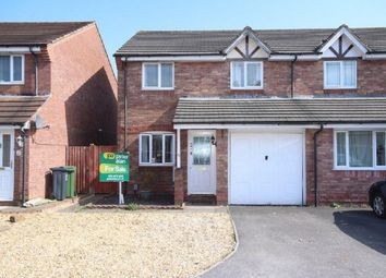 Thumbnail 3 bed semi-detached house for sale in Aston Place, St. Mellons, Cardiff