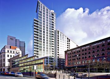 Thumbnail 2 bed flat for sale in Great Northern Tower, 1 Watson Street, Manchester