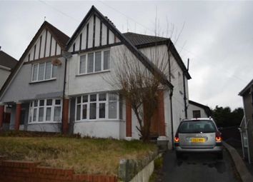 Thumbnail 3 bedroom semi-detached house for sale in Dunraven Road, Swansea