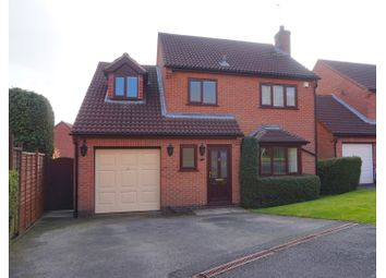 Thumbnail 4 bed detached house for sale in Stonesby Close, Oakwood