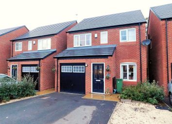 Thumbnail 3 bed detached house for sale in Green Close, Great Haywood, Stafford