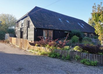 Thumbnail 3 bed barn conversion for sale in Harville Road, Ashford