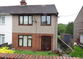 Thumbnail 3 bedroom semi-detached house for sale in Rhyddwen Road, Craig-Cefn-Parc, Swansea