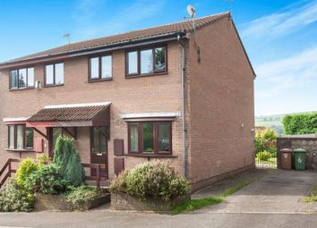 Thumbnail 3 bed semi-detached house for sale in Brynawel, Caledfryn, Caerphilly