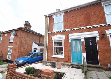 Thumbnail 2 bedroom end terrace house for sale in Nottidge Road, Ipswich