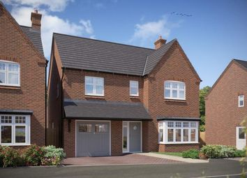 Thumbnail 4 bed detached house for sale in Milton Road, Repton