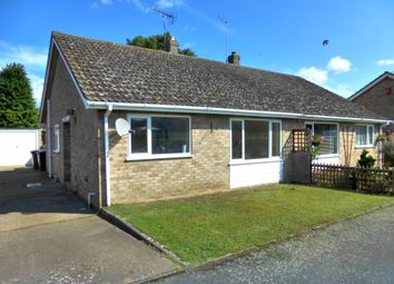 Thumbnail 2 bed semi-detached bungalow to rent in Holly Close, Red Lodge, Bury St. Edmunds