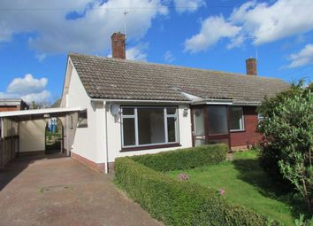 Thumbnail 2 bedroom semi-detached bungalow for sale in Bedingfield Crescent, Halesworth