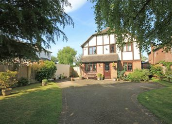 Thumbnail 4 bed detached house for sale in Mead Close, Peasemore, Newbury