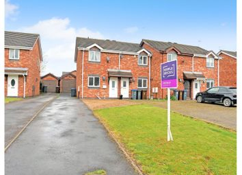 Thumbnail 2 bed town house for sale in Bramshaws Acre, Cheadle, Staffordshire