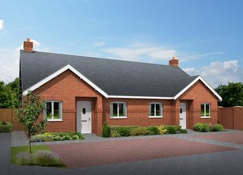 Thumbnail 2 bedroom bungalow for sale in 15 And 17, Rectory Lane, Breadsall, Derbyshire