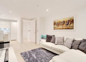 Thumbnail 1 bed flat to rent in Horizons Tower, 1 Yabsley Street, London