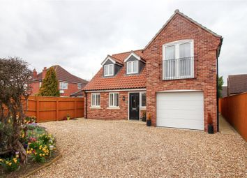 Thumbnail 3 bed detached house for sale in Fiskerton Road, Cherry Willingham, Lincoln