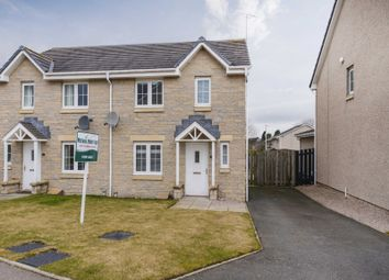 Thumbnail 3 bed semi-detached house for sale in Bogbeth Brae, Kemnay, Inverurie, Aberdeenshire