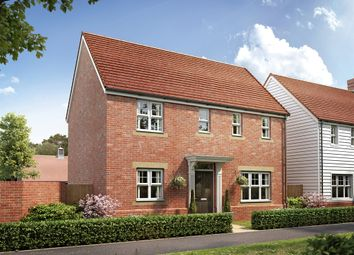 "Thumbnail 3 bedroom detached house for sale in ""The Clayton Corner"" at Ostrich Street, Stanway, Colchester"