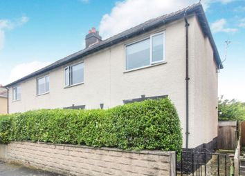Thumbnail 3 bed semi-detached house for sale in Llwyn Road, Oswestry