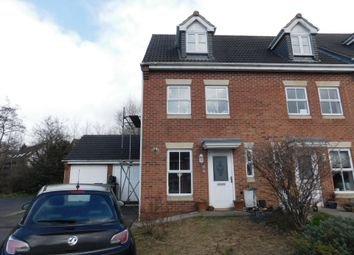 3 bed town house for sale in Ensor Close, Swadlincote DE11