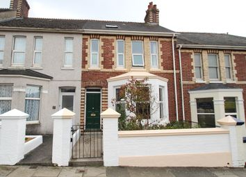 Thumbnail 3 bed terraced house for sale in Chestnut Road, Plymouth