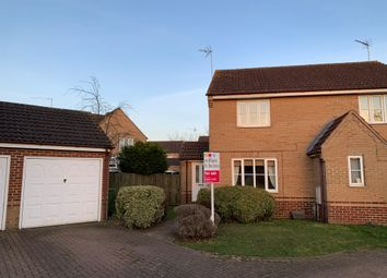 Thumbnail 2 bedroom semi-detached house for sale in Wallace Close, King's Lynn