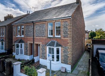 Thumbnail 3 bed semi-detached house for sale in Spitalfield Lane, Chichester