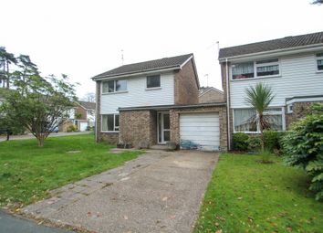 Thumbnail 3 bedroom detached house for sale in Martindale Avenue, Camberley, Surrey