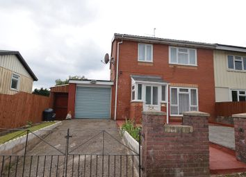 Thumbnail 3 bed semi-detached house to rent in Rhossilly Road, Rumney, Cardiff