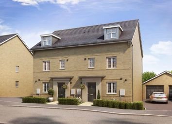 """Thumbnail 4 bed end terrace house for sale in """"Woodcote"""" at Marsh Lane, Harlow"""