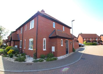 Thumbnail 2 bed end terrace house for sale in Copsey Walk, Dereham