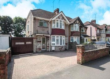 Thumbnail 3 bed semi-detached house for sale in Osborne Road, Luton, Bedfordshire