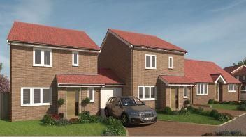 Thumbnail 3 bed link-detached house for sale in The Fenwicks, 623A Bristol Road South, Northfield, Birmingham