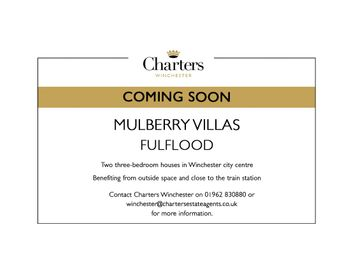 Thumbnail 3 bed semi-detached house for sale in Mulberry Villas, Cranworth Road, Winchester