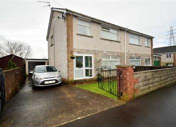 Thumbnail 3 bed semi-detached house for sale in Dynea Close, Rhydyfelin, Pontypridd
