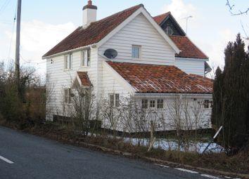 Thumbnail 3 bed detached house for sale in Stradbroke Road, Brundish, Woodbridge