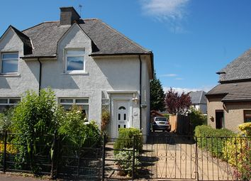 Thumbnail 2 bed semi-detached house for sale in Erngath Road, Bo'ness