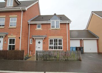 Thumbnail 3 bedroom terraced house to rent in Woodheys Park, Kingswood, Hull