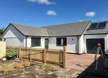 Thumbnail 4 bedroom detached bungalow for sale in Main Road, Rosudgeon, Penzance