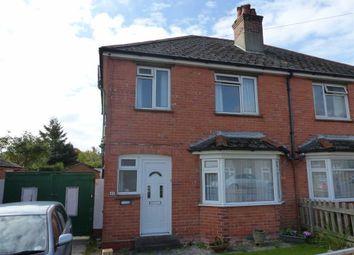 Thumbnail 3 bedroom semi-detached house for sale in Cambridge Road, Dorchester, Dorset